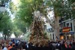 Ofrenda floral a la Virgen de las Angustias (Granada)