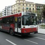 Autobuses en Granada
