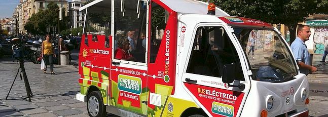 El Minibús Eléctrico de la Carrera del Darro