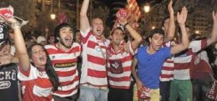Un año más de fútbol de Primera en Granada