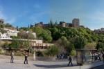 El Paseo de los Tristes en Granada